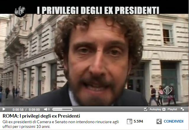 privilegi presidenti